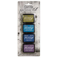 Tim Holtz Distress Archival Mini Ink Kit - Kit 2