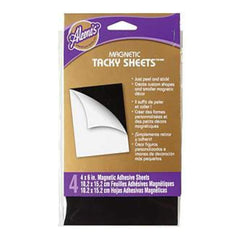 "Aleene's Magnetic Tacky Sheets 4""X6"" 4/Pkg"