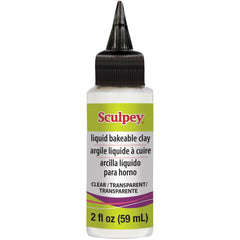Sculpey Liquid Medium 2oz - Clear