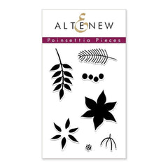 Altenew - Poinsettia Pieces Stamp Set
