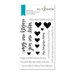 Altenew - Love Letters Stamp Set