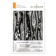 Altenew - A Walk in the Woods Stamp Set