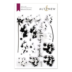 Altenew - Delicate Clusters 6x8 inch Stamp Set