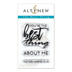 Altenew - The Best Thing 2 x 3in Stamp Set