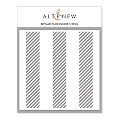 Altenew - Buffalo Plaid Builder Stencil 6x6 inch