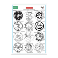 Altenew - Stamp Set - Holiday Seals