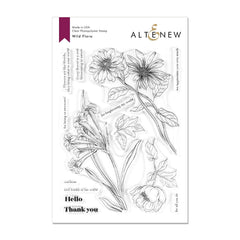 Altenew - Stamp Set - Wild Flora
