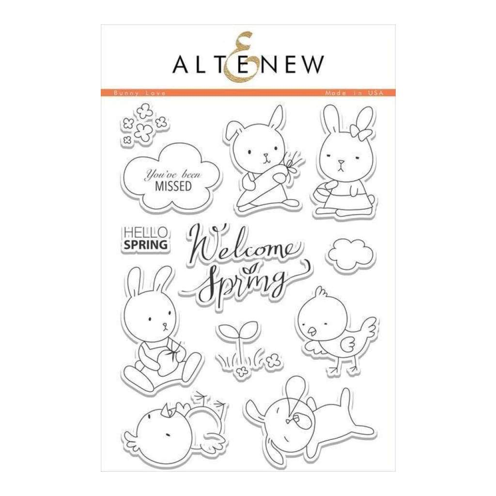 Altenew Clear Stamps - Bunny Love