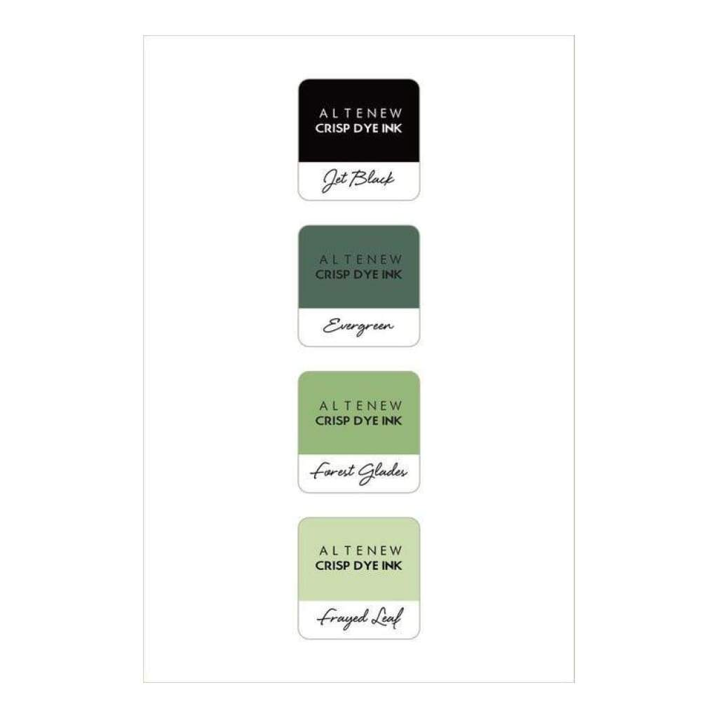 Altenew Mini Cube Ink Pad Set - Green Fields
