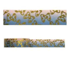 Amazing Value Christmas Foil Washi Tape - Gold Bows Design