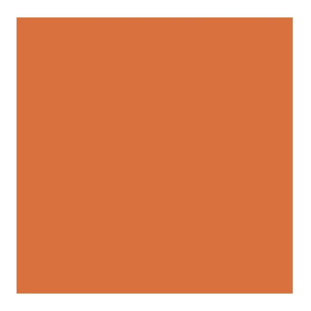 American Crafts 12Inx12in Textured Cardstock - Apricot - Single Sheet