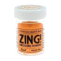 American Crafts 1Oz Zing Embossing Powder - Apricot