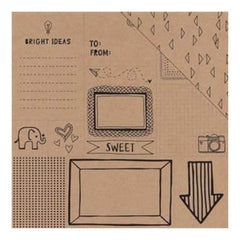 American Crafts - Amy Tan Rise & Shine Double-Sided Kraft Paper 12In. X12in.  Monroe