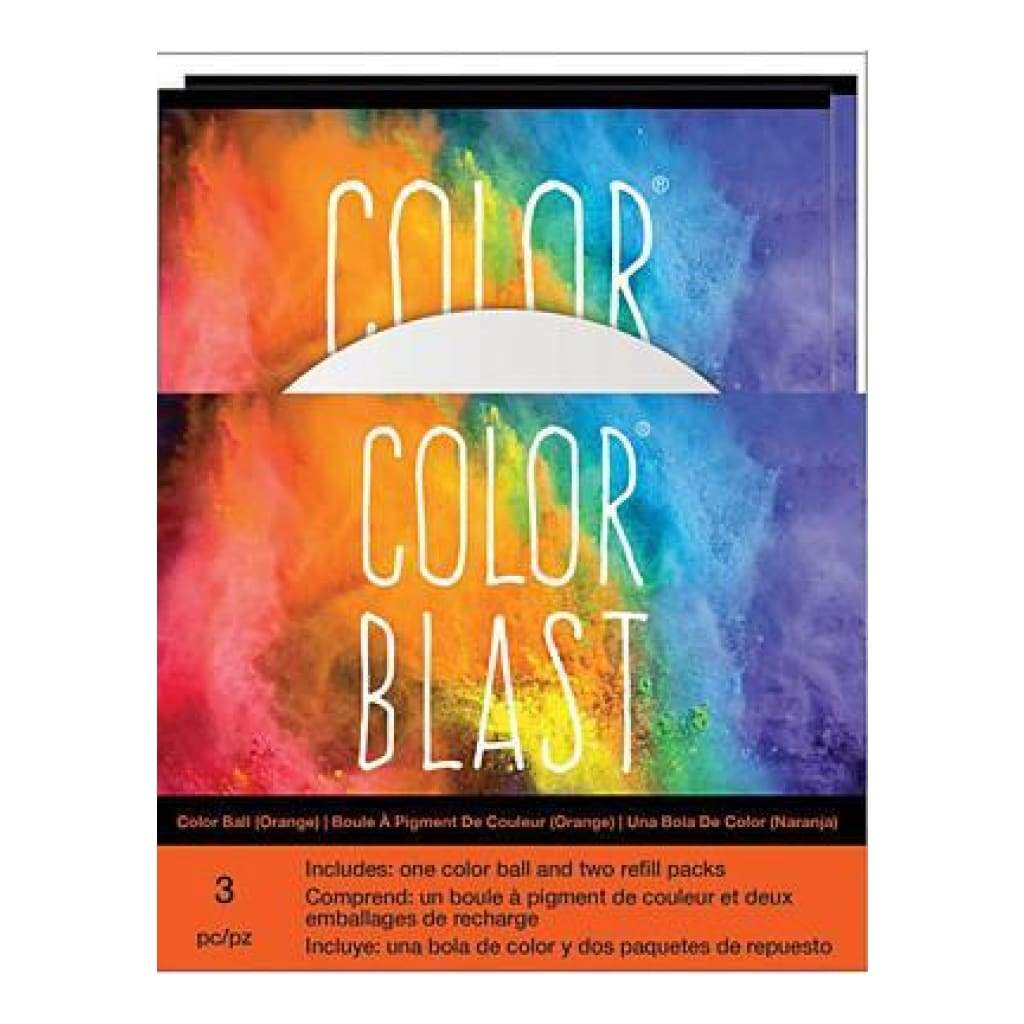 American Crafts - Color Blast Balls - Orange