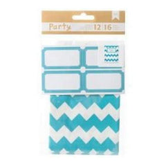 American Crafts - Diy Party Treat Bags & Labels Blue & White