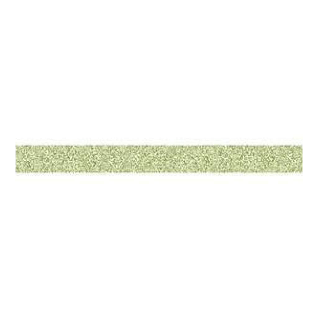 American Crafts Glitter Tape .625 Inch X3yd Lime