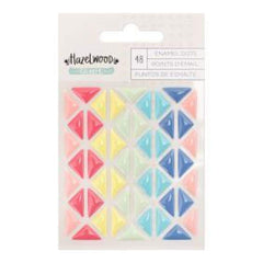 American Crafts - Hazelwood Self-Adhesive Enamel Dots -Triangles