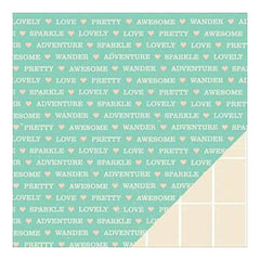 American Crafts - Shimelle Double-Sided Cardstock 12Inx12in Hopper