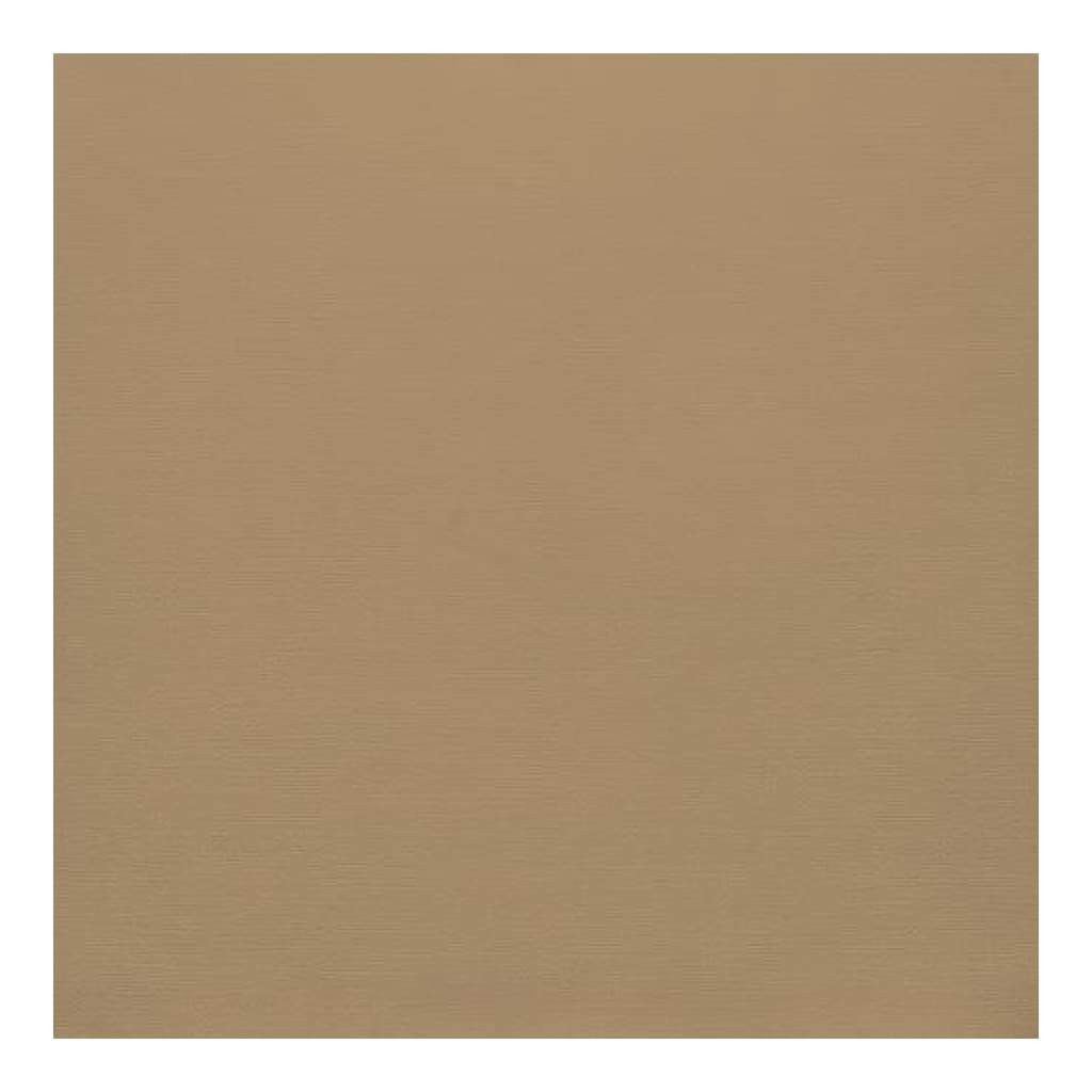 American Crafts Smooth Cardstock Single Sheet 12 X 12 - Dark Kraft 216gsm