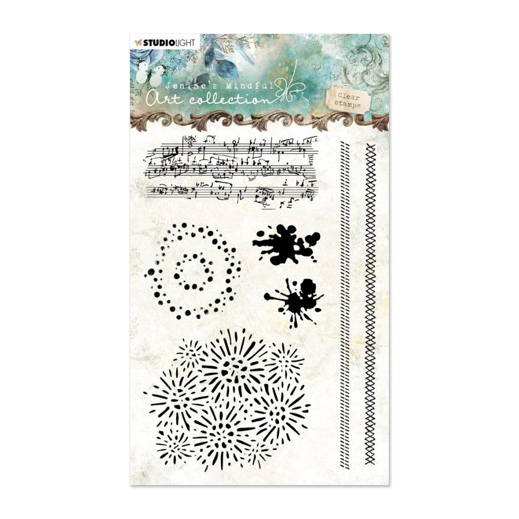 Studio Light Jenines Mindful Art A6 Clear Stamps NR. 03