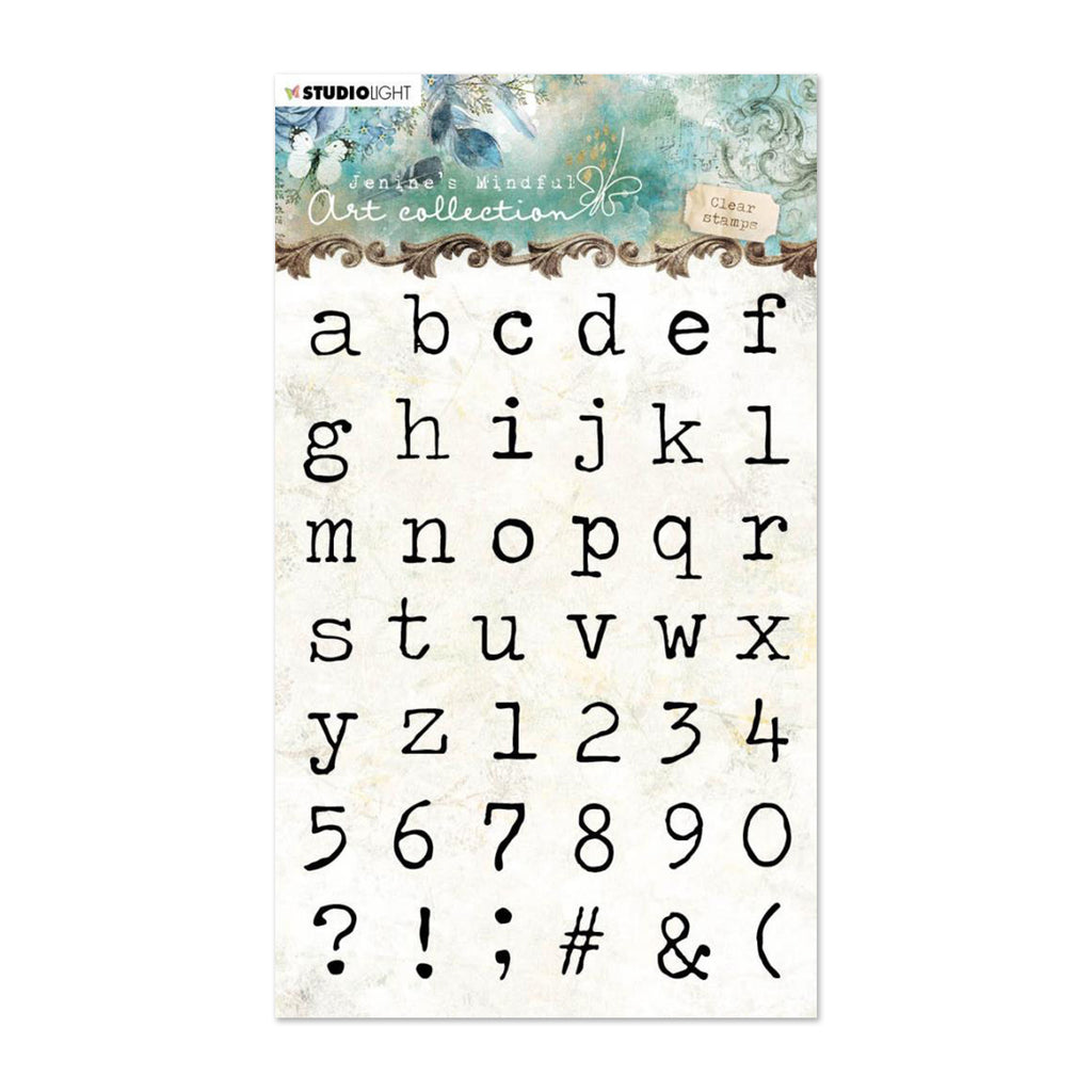 Studio Light Jenines Mindful Art A6 Clear Stamps NR. 04