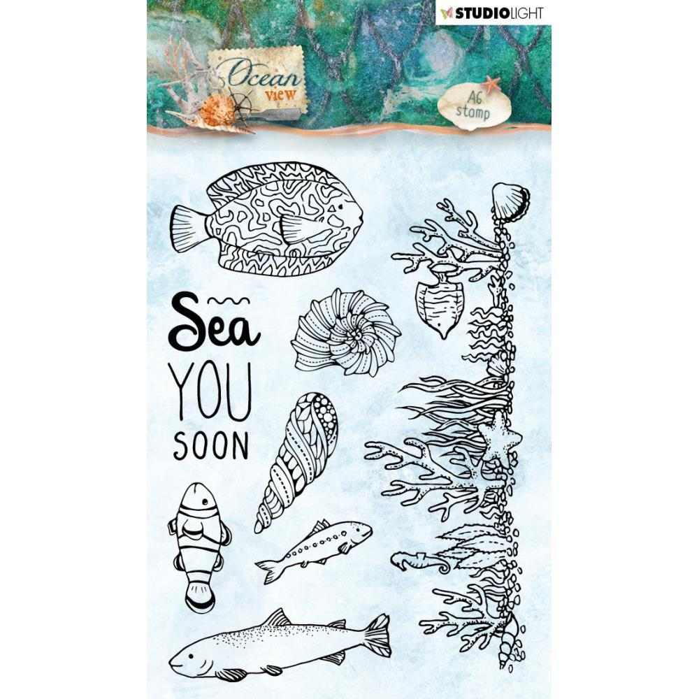 Studio Light Ocean View Clear Stamps NR. 369