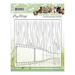 Amy Design - Find It Trading Amy Design Embossing Folder Animal Medley