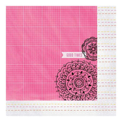 Amy Tan Rise & Shine Double-Sided Cardstock 12x 12 - Lily