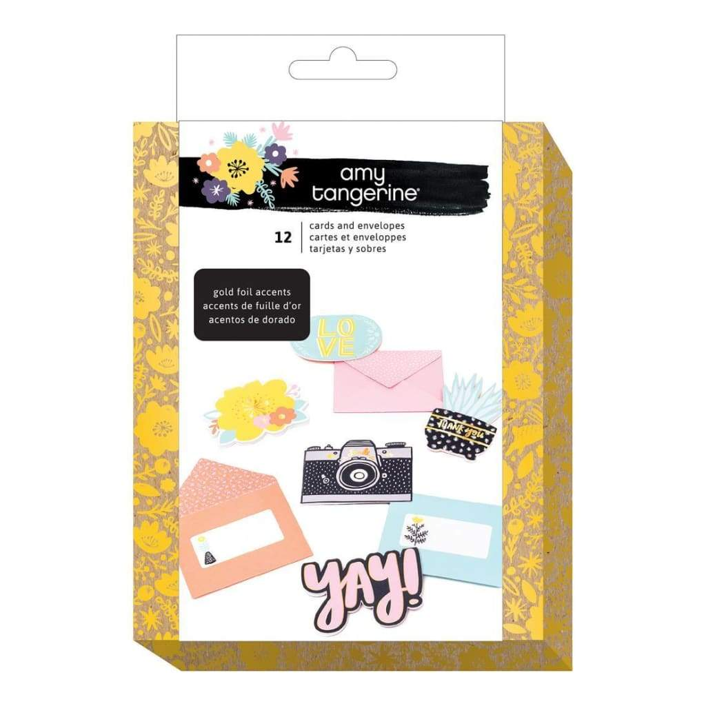 Amy Tan Shine On Card Kit Makes 12