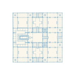 Anna Griffin - Flora - Garden Plan Blue 12x12 paper (pack of 10)