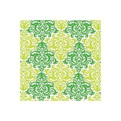 Anna Griffin - Darcey - Green Damask 12x12 flocked paper (pack of 5)