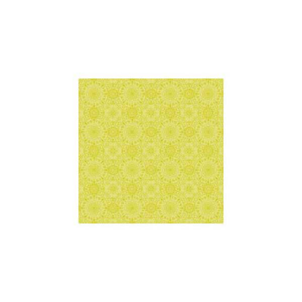Anna Griffin - Isabelle - Lime Tonal Circles 12x12 paper (pack of 10)
