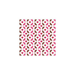 Anna Griffin - Valentina - Brown Geo 12x12 paper (pack of 10)