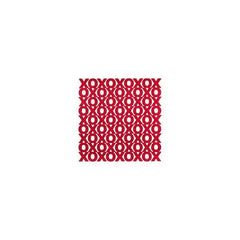 Anna Griffin - Valentina - Red XO 12x12 glittered & die-cut cardstock (sold in 3s)