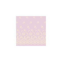 Anna Griffin - Cecile - Lavender Brussels Lace 12x12 flocked paper (pack of 5)