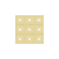 Anna Griffin - Calisto - Gold Squares 12x12 paper (pack of 10)