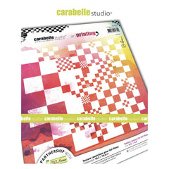 Carabelle Studio Art Printing Square Texture Plate - Checkerboard