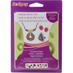 Sculpey Silicone Bakeable Mold Cabochon