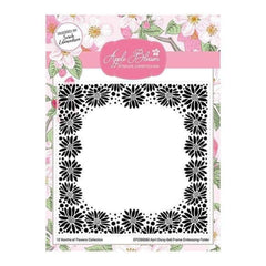 "Apple Blossom 6"" x 6"" Embossing Folder Seasonal Flowers Spring Daisies"
