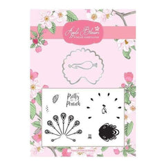 Apple Blossom Birds of a Feather Collection - Peacock Die & Stamp Set