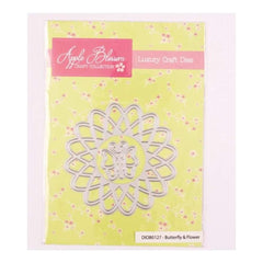 Apple Blossom Craft Collection Butterfly and Flower die set