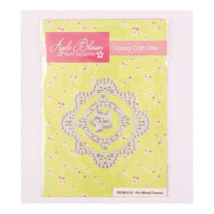 Apple Blossom Craft Collection Pin Wheel Frames die set