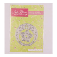 Apple Blossom Craft Collection Scalloped Circle Frame die set