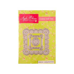 Apple Blossom Craft Collection Scalloped Square Frames die set