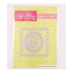 Apple Blossom Craft Collection Stamp Frame & Flowers die set
