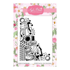 Apple Blossom - Drinks Trolley Collection - Soda Pop 5x7 inch Embossing Folder