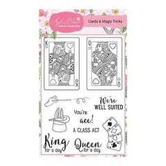 Apple Blossom Enchanted Collection - Cards & Magic Tricks - A6 Stamp set
