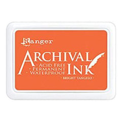 Archival Ink Pad #0 Bright Tangelo