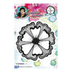 Studio Light Art By Marlene Flowers Cling Stamp - Flower #1