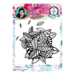 Studio Light Art By Marlene Flowers Cling Stamp - Leaves